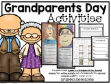 Grandparents Day Activities- Directed Drawing, Writing Prompts, Card