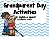 Grandparents Day Activities (English & Spanish)
