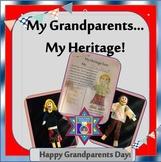 Grandparents Day Activities: My Grandparents ...My Heritage Memory Book