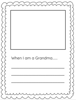 Grandparents' Day Activities (Second Sunday in September!)