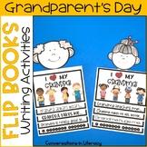 Grandparents Day Activities Writing Flip Books