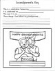 Grandparents Day Activity