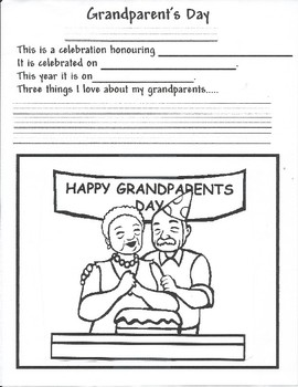 Grandparents Day Activity