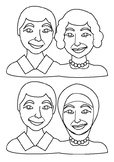 Grandparents Day Activity - Inclusive colouring in activit