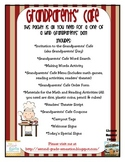 Grandparents' Day Activity: Invite Grandparents to the Grandparents' Cafe