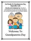 Grandparents Day Activity Lapbook