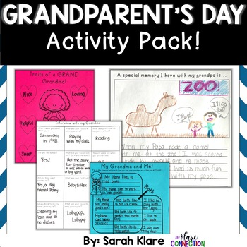Grandparents Day! {Activity Pack}