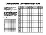 Grandparents' Day Battleship Hunt