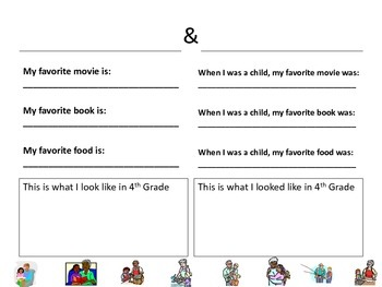 Grandparents Day Bulletin Board Activity to do with Grandparents