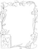 Grandparents Day Coloring Page for Portfolio