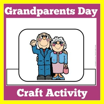 Grandparents Day Craft | Grandparents Day Activity | Grandparents Day Coloring
