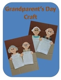 Grandparent's Day Craft and Writing Template