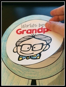 Grandparents Day Craftivity {No Prep}