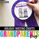 Grandparents Day Craftivity - a no prep September writing activity