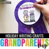 Grandparents Day Craftivity - a no prep September writing