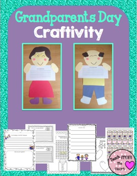 Grandparents Day Craftivity and Printables