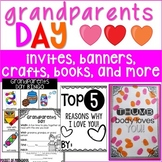 Grandparents Day: Banners, Cards, Bingo Games, Kid Book, & More