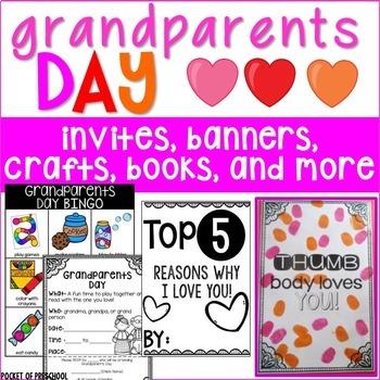 Grandparents Day Crafts, Books, Bingo: A Fun Event