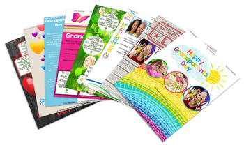 EYLF Grandparents Day Editable Pack and Keepsakes
