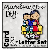 Grandparents Day English and Spanish Card & Letter Set (No Prep)