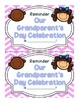 Grandparent's Day {Everything You Need with No Prep}