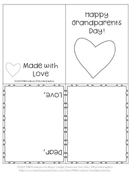 Peaceful image with regard to grandparents day cards printable