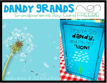 Grandparents Day FREEBIE