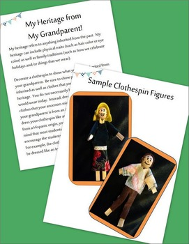 Grandparents Day FREEBIE for September to Honor Heritage