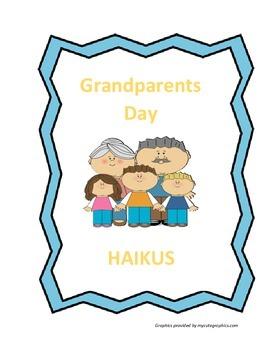 Grandparents Day: Haikus - FREE!