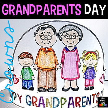 Grandparents Day Hats (Editable)