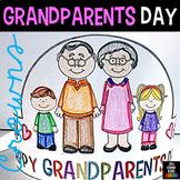Grandparents Day Hats (Editable)