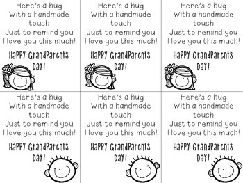 Grandparents Day Hug Poem