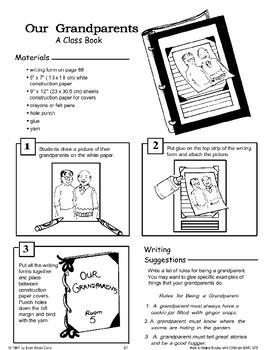 Grandparents' Day: Making Books