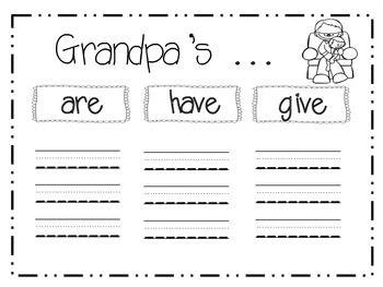 Grandparents Day Mini-Unit