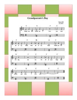 Grandparent's Day Sheet Music