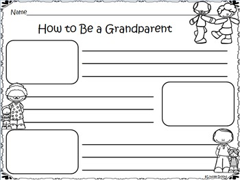 Grandparents Day No Prep Freebie Pack
