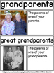 Grandparents (Day) Picture Word Wall Feat. Real World Pictures