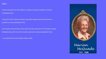 Grandparents Day Power Point - History Facts Celebrations Pictures Review
