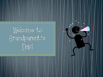 Grandparent's Day - PowerPoint (Editable)