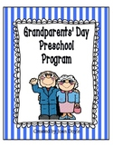 Grandparents Day Preschool Program