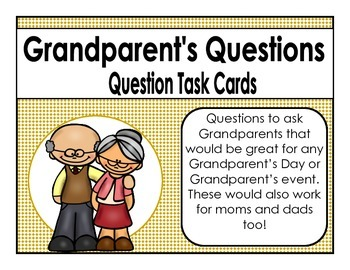 Grandparent's Day Questions