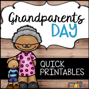 Grandparents Day Quick Printables