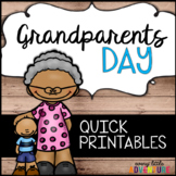 Grandparents Day Quick Printables