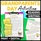 Grandparents Day Reading and Writing Activities