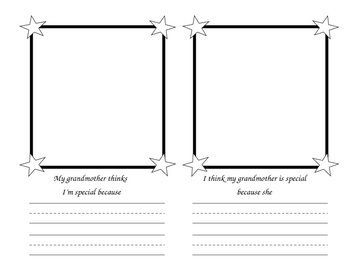 Grandparents Day (September) -  Creative Writing Activity