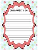 Grandparents' Day Sheet