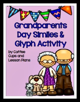 Grandparents Day Simile and Glyph Activity