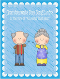 """Grandparents Day Song Lyrics to the Tune of """"All About That Bass"""""""