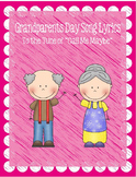 """Grandparents Day Song Lyrics to the Tune of """"Call Me Maybe"""""""