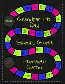 Grandparents Day Special Guest Interview Game